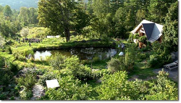 Ben Falks permaculture maison 4 hectares