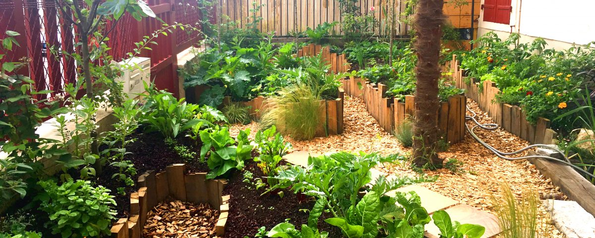 Permaculture france sud ouest jardin biarritz pays basque urbain