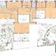 Design permaculture cour d'école motif naturel