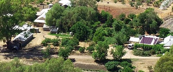 ferme en Permaculture en climat mediterranéen